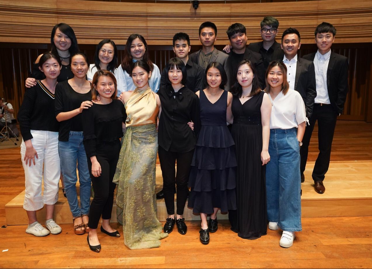 Voices for Tomorrow Charity Concert 19th January 2020 @ Yong Siew Toh Conservatory of Music