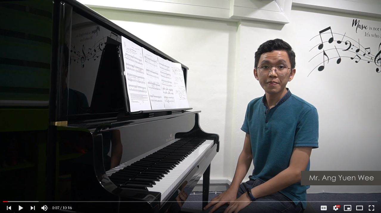 ABRSM PIANO EXAM PIECES (2021-2022) GRADE 5 : A1 LA CHEVALERESQUE BY MR ANG [ENG DUB, CN SUB]