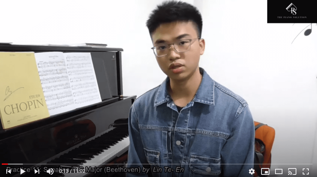 Practice 11 - Sonatina in G Major (Beethoven) by Mr Lin