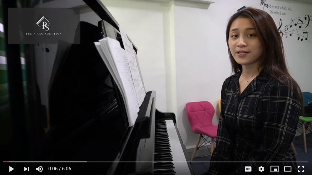 ABRSM Exam Pieces (2021-2022) Grade 4 : A2 Etude in A Minor by Ms Tan [ENG Dub, CN sub]