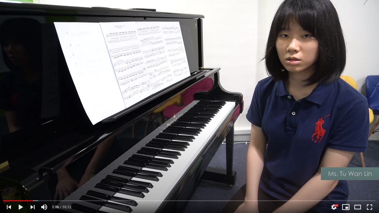 ABRSM PIANO EXAM PIECES (2021-2022) GRADE 8 : A3 PRELUDE AND FUGUE IN G - MS TU [CN DUB, ENG SUB]